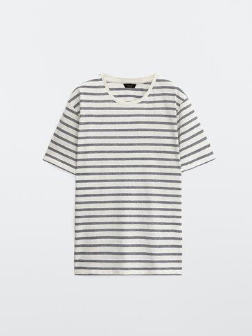 Camiseta rayas algodón