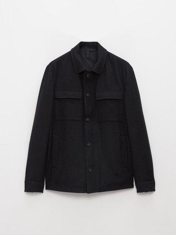 Overskjorte med lommer