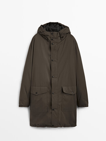 Parka double face piume Limited Edition
