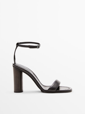 BROWN LEATHER SANDALS LIMITED EDITION