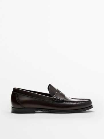 NAPPA LEATHER PENNY LOAFERS