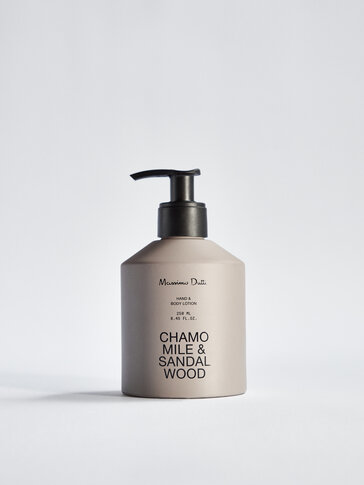 (250 ml) Chamomile & Sandalwood hand and body lotion