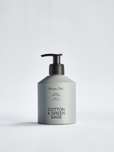 (250 ml) Crema de manos y cuerpo Cotton & Green Sage