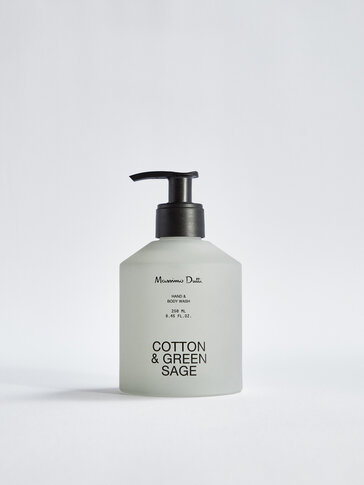 (250 ml) Cotton & Green Sage hand and body wash