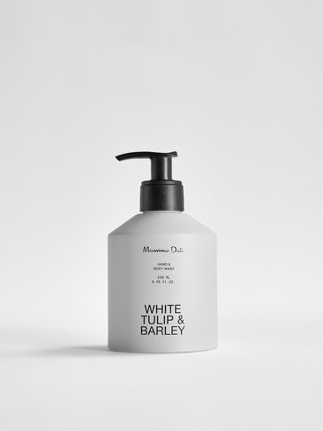 (250 ml) White Tulip & Barley liquid hand soap and body wash