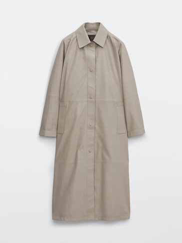 Trench en cuir nappa Limited Edition