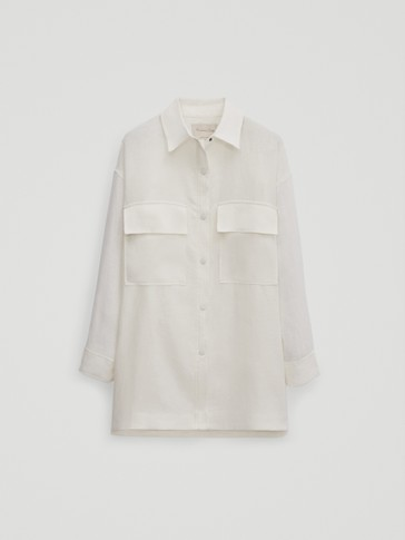Overshirt with patch pockets - Limited Edition