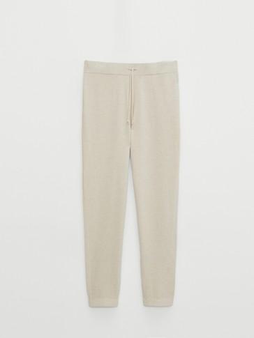 Трикотажен панталон тип джогинг