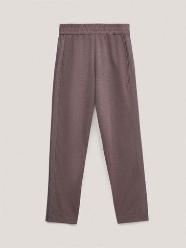 Jogging trousers with side detail