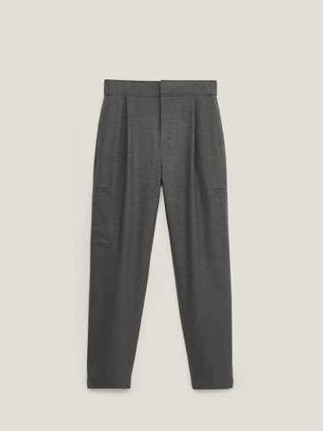 Jogging trousers with hem detail
