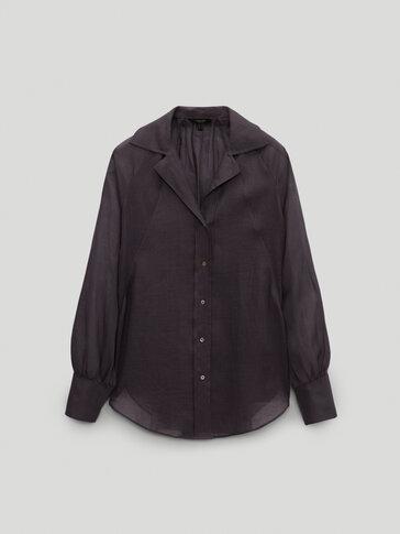 100% ramie shirt