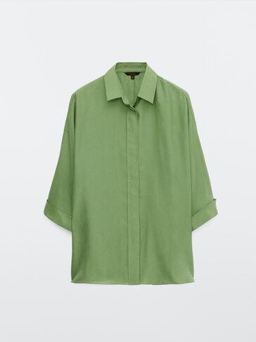100% silk habotai blouse