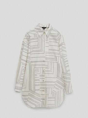 100% cotton long shirt