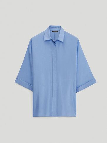 بلوزة هابوتاي من الحرير 100%