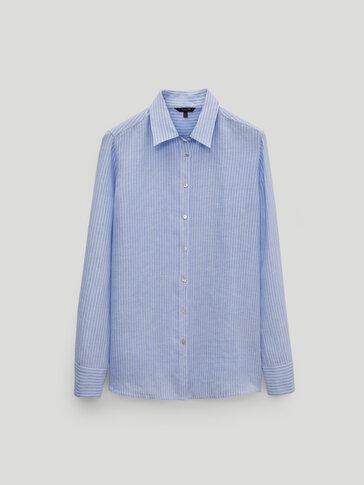 Camisa ratlles 100% lli