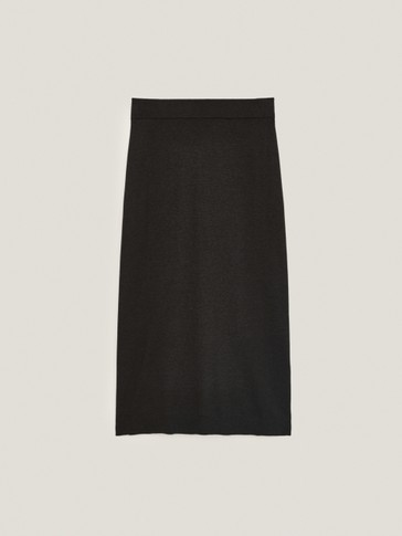 Total Look wool skirt