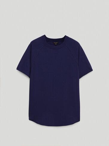 Oversize knit T-shirt