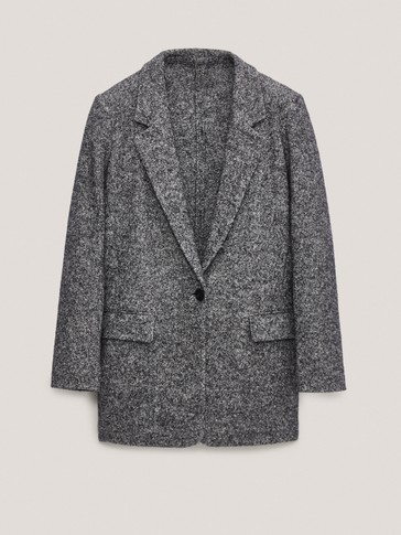 Wool/cotton blazer
