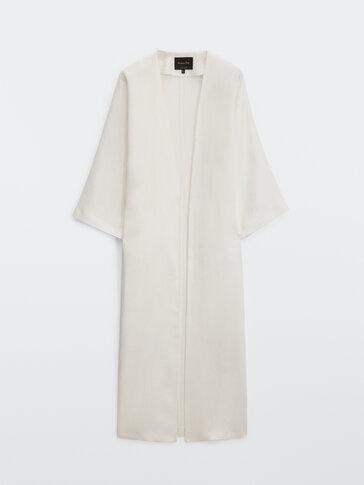 100% linnen kimono