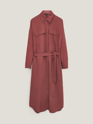 Lange shirtdress