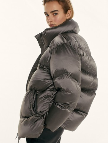 Oversize down puffer jacket