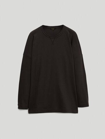 Bluza w paski ze 100% bawełny