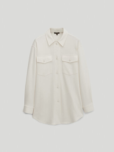 Overshirt with pockets