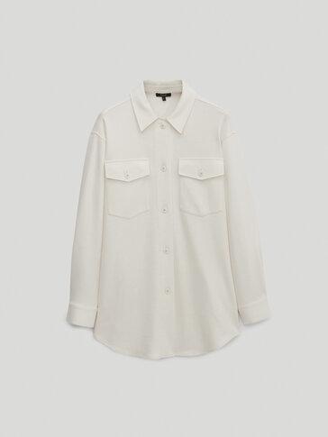 Връхна риза с джобове