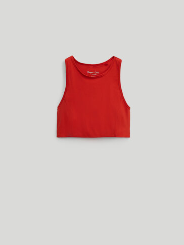 Crop top tirantes