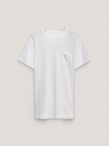 T-shirt de manga curta 100% algodão