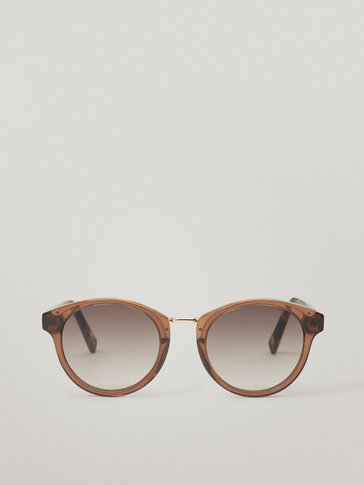 Gafas de sol estructura combinada