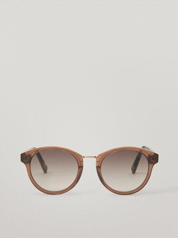 Contrast structure sunglasses