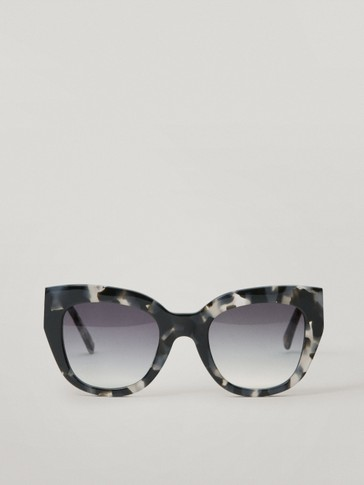Gafas de sol cat eye negras