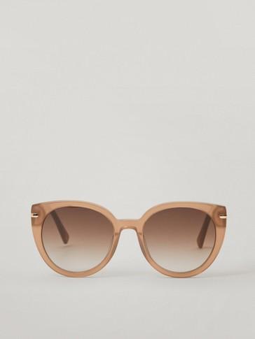 Gafas de sol cat eye rosa