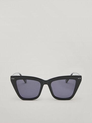 Gafas de sol de pasta negras