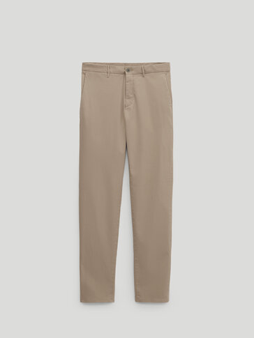 Chino katun slim fit