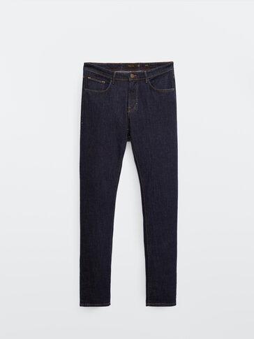 Utvasket slim-fit jeans