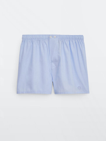 Fil a fil cotton boxers