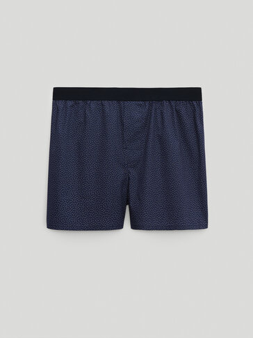 Pack of printed cotton boxers