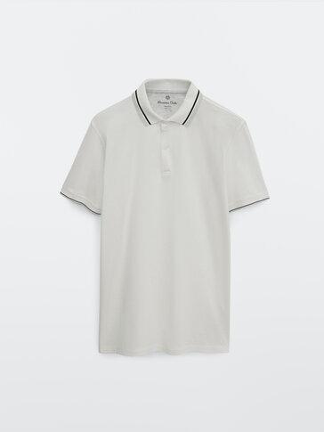 Kortermet poloskjorte i 100 % cotton