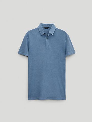Polo en pur coton à manches courtes
