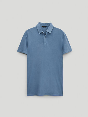100% cotton short sleeve Polo shirt