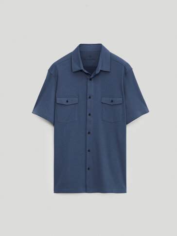 100% cotton short sleeve shirt