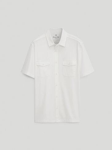 100% cotton short sleeve shirt