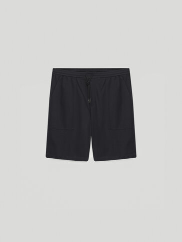 100% cotton Bermuda shorts