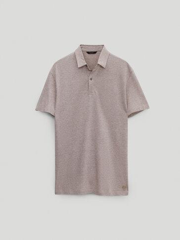 חולצת פולו שרוול קצר 100% כותנה