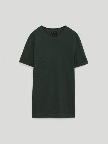 Camiseta de punto 100% algodón