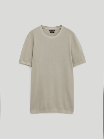 100% cotton knit T-shirt