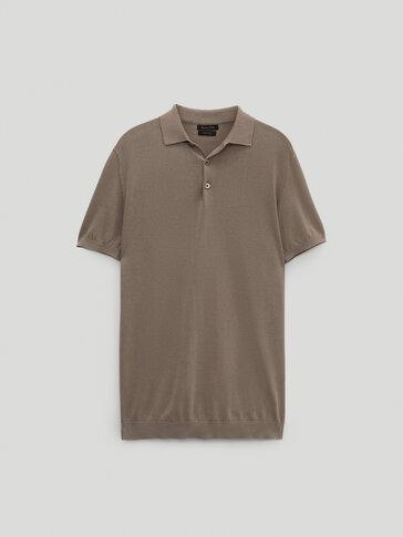 Jersey polo manga corta algodón