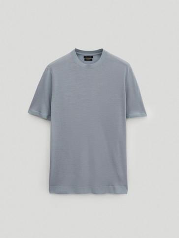 100% wool knit top